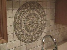 medallion set stone medallion backsplash medallions mosaic backsplash