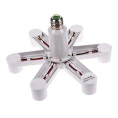 7 In 1 Light Bulb Adapter