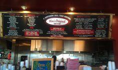 Denver Restaurant Chalk Board Menu