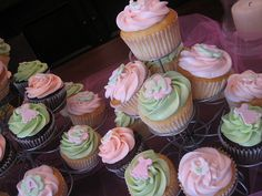 baby shower cupcakes for girls - Google Search