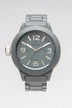 Chic grey watch