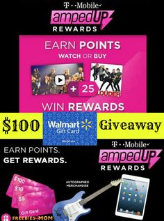 *CLOSED* I have a $100 Walmart Gift Card Giveaway for my fab readers!!!  ENTER $100 #GIVEAWAY (ends Feb. 10) -----> http://freebies4mom.com/soundcheck/