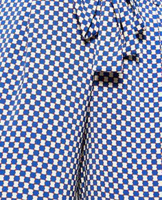 Image 7 of CROPPED FLOWING STRIPED TROUSERS from Zara