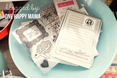 http://www.one-happy-mama.com/2012/01/project-life-my-studio.html#.TwSW3Mrle5M.twitter