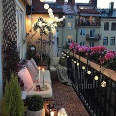 nächtliches Paradies Balkon bepflanzen