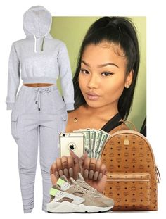 """Something like dat"" by heavensincere ❤ liked on Polyvore featuring MCM and NIKE"
