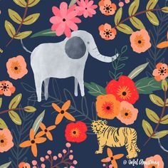 It's a Jungle out There - Mel Armstrong Design