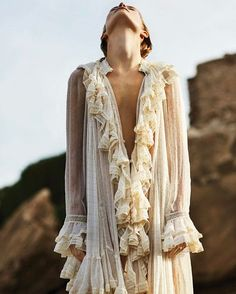 zimmermannEditorial: Our Cavalier ruffle dress from our @sommerswim