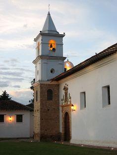 Villa de Leyva: Iglesia del Carmen   Colombia