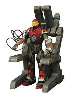 Amazon.com: Diamond Select Toys Marvel Select: Ultimate Iron Man Action Figure: Toys & Games