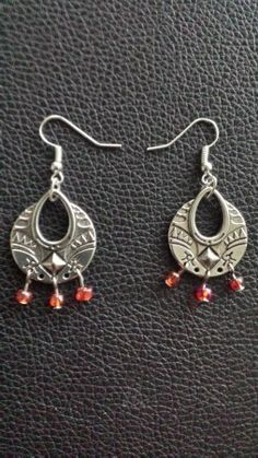 "Day 166: Boucles d'oreilles ""iberian queen"""