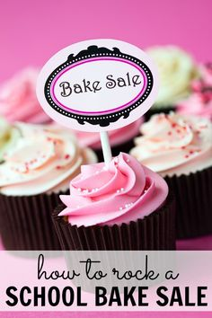 How to rock a school bake sale