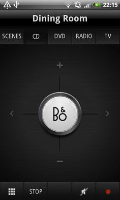 BeoLink : Domotic Control #app by Bang & Olufsen #luxury