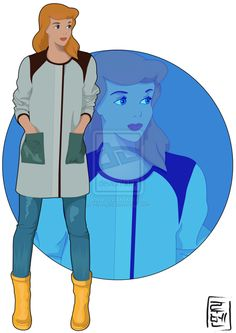 Cinderella Disney Characters Reimagined As University Students - DesignTAXI.com