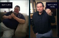"""Losing 135 Pounds in One Year With LCHF: """"Soon after beginning I learned about LCHF and Keto and altered my diet to include more fat and spent the majority of my carbs on green leafy vegetables. My focus was not on calories, instead I concentrated on keeping my macronutrients at approximatly 5% carbs, 60% fat and 35% protein. The weight came of very quickly. I have a tremendous amount of energy, I am seldom hungry, and never feel denied...."""""""