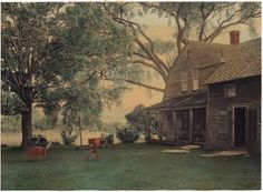 "Home Sweet Home, by Wallace Nutting, Photo #45 in the Wallace Nutting Index. This image also appears in ""Vermont Beautiful""."