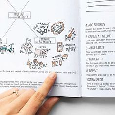 Today's #PCW is... @alvaradocreativeco! ❤️ - Thanks for showing us a glimpse of your #PassionRoadmap - We love how some of her goals include building muscle , drinking more water , & eating less meat to live a more healthier lifestyle! - TAG a friend to remind them to fill out their Passion Roadmap! ✍️️ - #passionplanner #pashfam #plannercommunity