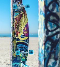 Celebrating this Thanksgiving day with art and skateboarding. The new pintail fiberglass with a flexible camber construction longboard by @cuscorebel - #DustersGOFISH  #HappyThanksgiving #DustersCalifornia