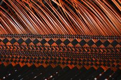 Jill Fleming is a Weaver (Fibre artist) who is passionate about textiles and fibre arts, and has worked in many aspects of both mediums. Flax Weaving, Flax Flowers, Maori Designs, Bamboo Art, Nz Art, Unity In Diversity, Maori Art, Weaving Patterns, Fiber Art
