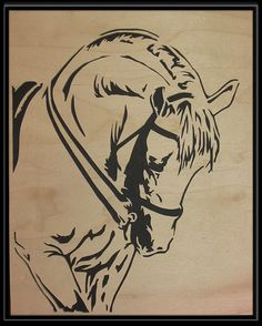 Lipanzer stallion by Sparetime Scroller Horse Silhouette, Silhouette Vector, Horse Pencil Drawing, Intarsia Wood, Cut Animals, Glass Engraving, Horse Logo, Wood Burning Patterns, Wood Painting Art
