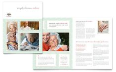 Business Cards Templates Free Home Health Nursing For Elderly - Breastfeeding brochure templates