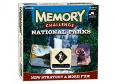 Image of National Parks Edition Memory Board Game Senior Games, Logo Mugs, Reusable Grocery Bags, Grow Together, Gifts For Nature Lovers, Crew Neck Shirt, Stay Warm, More Fun, Board Games