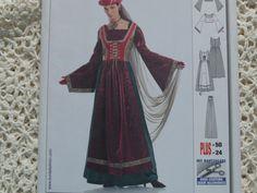 Medieval Renaissance Costume Pattern