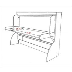 Murphy Bed Desk Combo Plans - Google Search