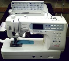 JANOME 6600P Professional Sewing Quilting machine.