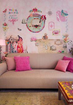 Wallpaper van Room Seven Www.juffrouwzonderzorgen.nl