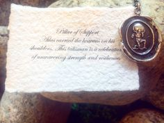 Give the gift of a Pyrrha Talisman to your father on Sunday! You Are The Father, Sunday, Gifts, Jewelry, Favors, Jewels, Schmuck, Jewerly, Jewelery