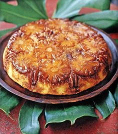 Jamaican Upside Down Cake: Mmmm.. cooked pineapple. This looks like a straightforward recipe even a non-cake maker like me can try.