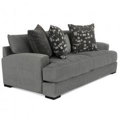 JONATHAN LOUIS CARLIN BELLA GRANITE SOFA - SOFA LIVING ROOM COUCH   Gallery Furniture - Houston, TX