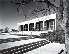 Philip Johnson, Amon Carter Museum of Western Art, Fort Worth, Texas, 1961