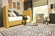 Animal print area rugs!