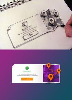 #UI #UX #sketch