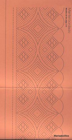 Archivo de álbumes - CUADERNO DE BOLILLOS 011 Bobbin Lacemaking, Bobbin Lace Patterns, Quilt Border, Lace Making, Lace Design, Crochet Motif, String Art, Band, Tatting