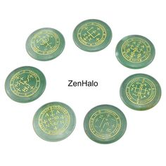 7PCS Green Aventurine Reiki Crystal - Chakra #everythingelse #religious @EtsyMktgTool http://etsy.me/2C9Qqn7 #chakra #healingstone #7chakras