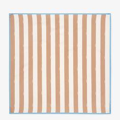 Beige silk foulard - PEQUIN FOULARD | Fendi