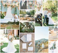 Inspirational Wedding Ideas #231: Green, Blush & Aqua - http://www.diyweddingsmag.com/inspirational-wedding-ideas-231-green-blush-aqua/