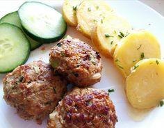 Karbanátky s cuketou Ethnic Recipes, Fitness, Food, Essen, Meals, Yemek, Eten