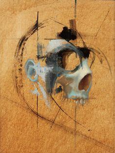 Symbiote #7  by John Wentz #skull