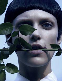 Fashiontography: Anja Rubik by Camilla Akrans   Wild & Chic