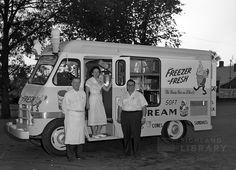 Freezer-Fresh Ice Cream truck 1960