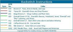 Toddler Birthstone Fairy May Emerald Cross Stitch Pattern 4/5