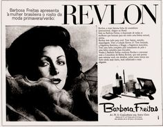 Anúncio Revlon - Lojas Barbosa Freitas - Rio - 1974
