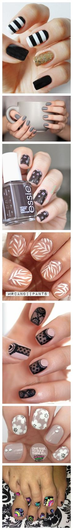 Art Nails - Nail Art Ideas and Designs Fabulous Nails, Gorgeous Nails, Pretty Nails, Fancy Nails, Love Nails, My Nails, Nail Art Diy, Easy Nail Art, Uñas Diy
