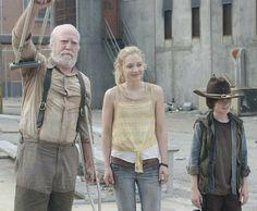 Herschel, Beth and Carl