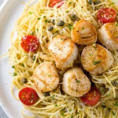 Recipe For Scallops With Pasta - Scallops are a extremely common kind of fish and one reason behind this is due to scallops are extremely versatile. Scallops Can be ready in so many unique ways, such as sautéing, grilling, broiling, baking and stir-frying. No matter manner you decide to prepare... http://homefurnitureideas.life/recipe-for-scallops-with-pasta/