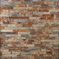 Floor & Decor has top quality Stacked Stone Ledger Panels at rock bottom prices. Let us help you with your home improvement project. Stone Backsplash, Stone Tiles, Backsplash Ideas, Brick Fireplace Makeover, Fireplace Wall, Fireplace Ideas, Metal Wall Panel, Polished Porcelain Tiles, Earth Tone Colors